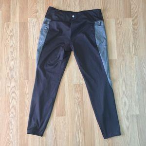 Avia Black and Gray Athletic Pants